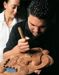 Witness the art of Maori carving, each piece tells its own story... - Photography by Gareth Eyres