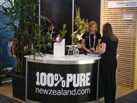 The CINZ Team showcasing our New Zealand conference and incentives industry