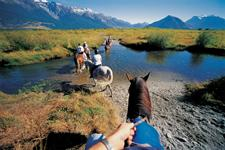Horse Trekking amongst breath-taking scenery
