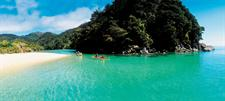 Kayaking the azure waters around Nelson - Photography by Tourism New Zealand