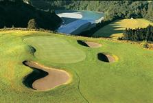 A stunning natural wilderness as your Golf backdrop at Terrace Downs Resort in Canterbury